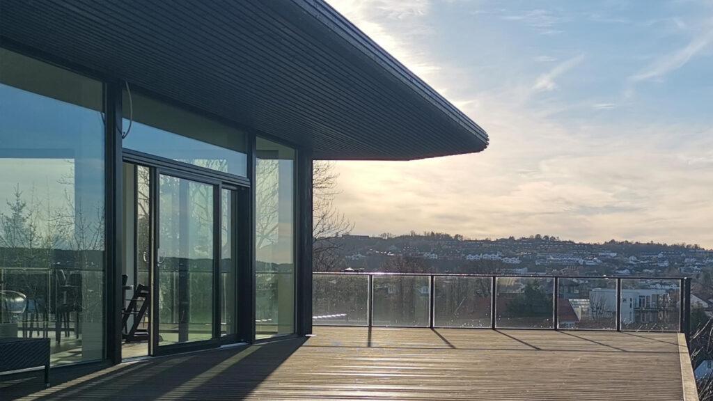 Bilde av utsikten fra Villa Bjordal Halvorsen